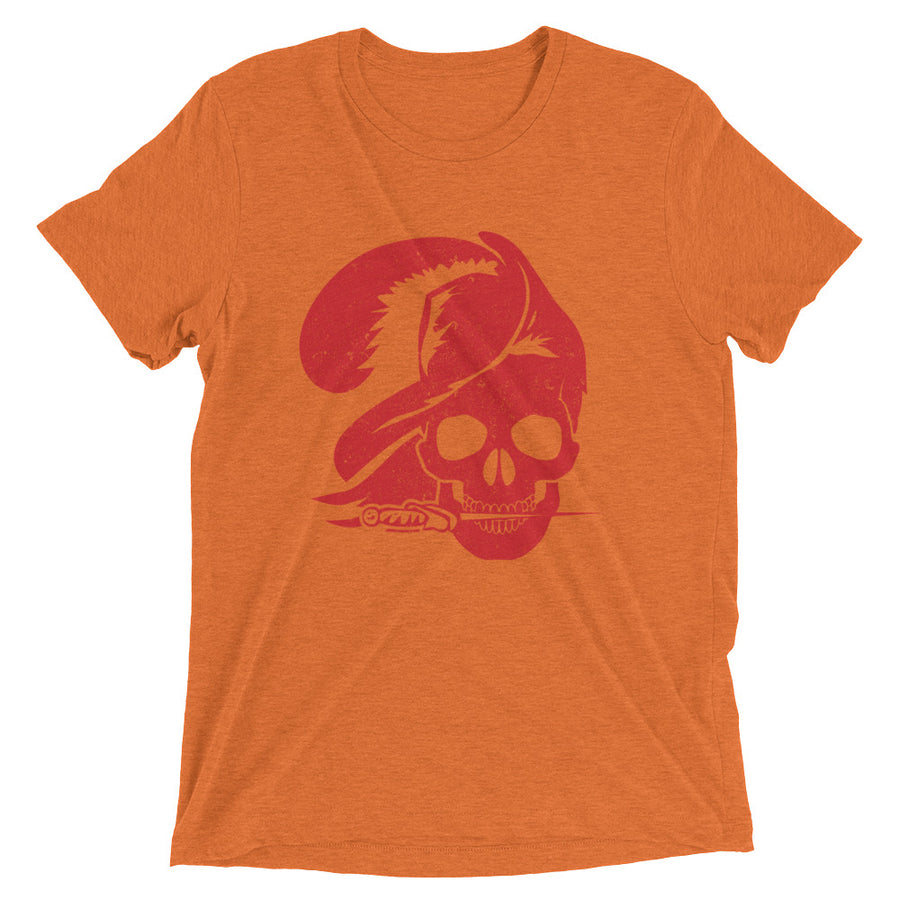 Unisex Skull Pirate Tee - Eola Apparel