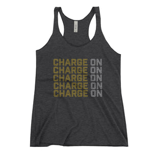 Ladies Charge On Racerback Tank - Eola Apparel