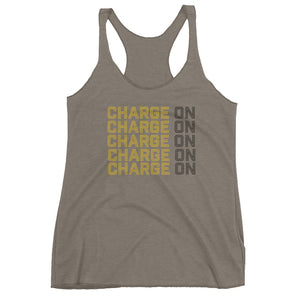 Ladie's Charge On Dark Tank - Eola Apparel