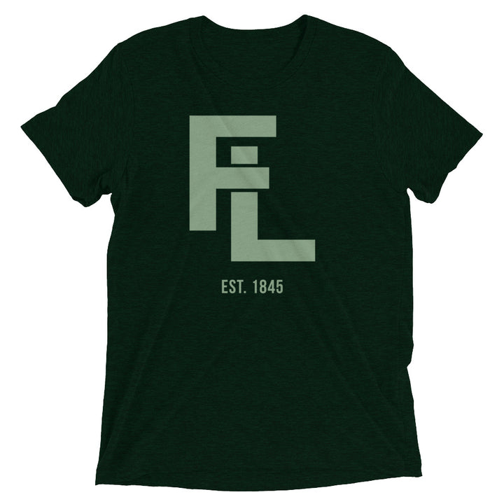 Unisex Green FL Stack Tee - Eola Apparel