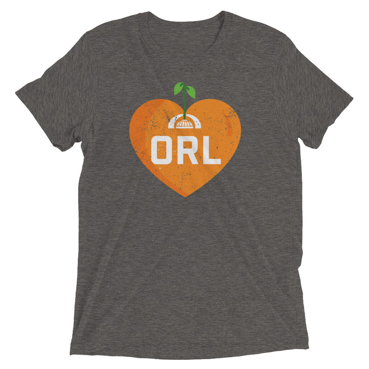 Unisex Florida Heart Citrus Fountain Tee - Eola Apparel
