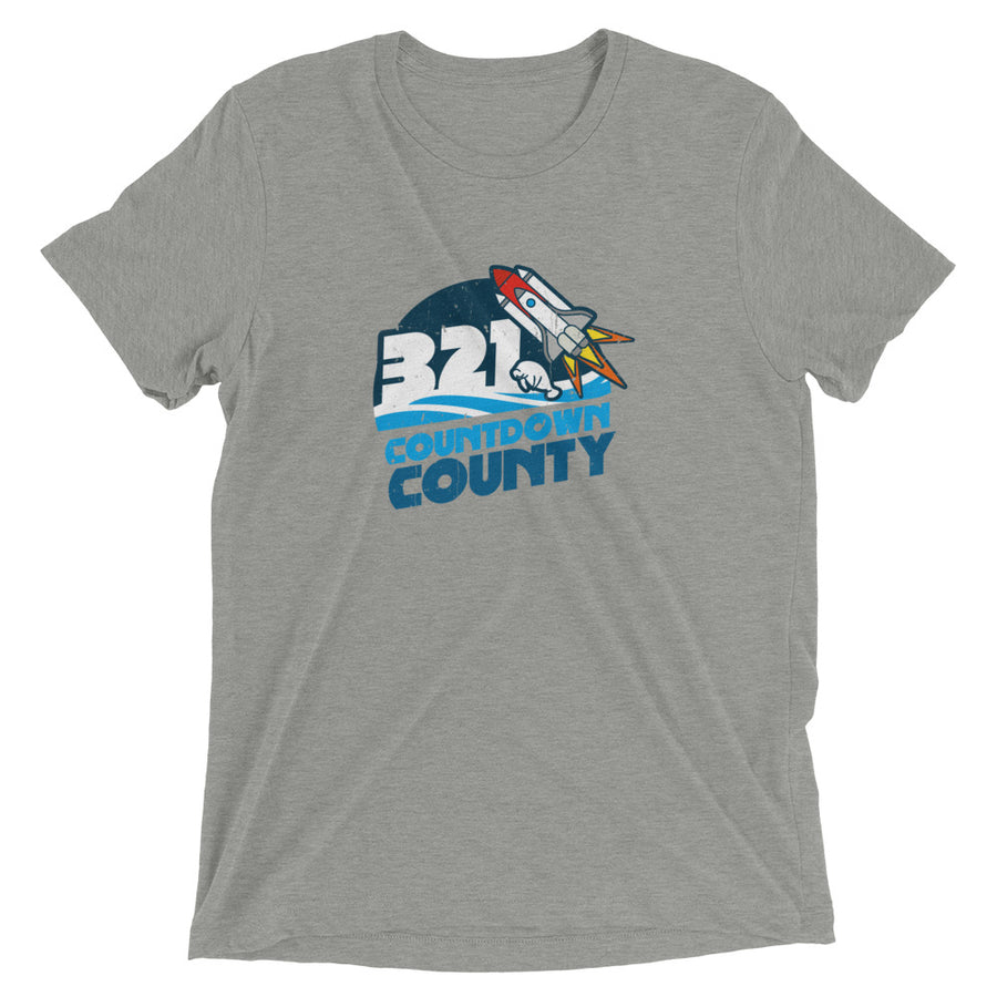Unisex 321 Countdown County Tee - Eola Apparel