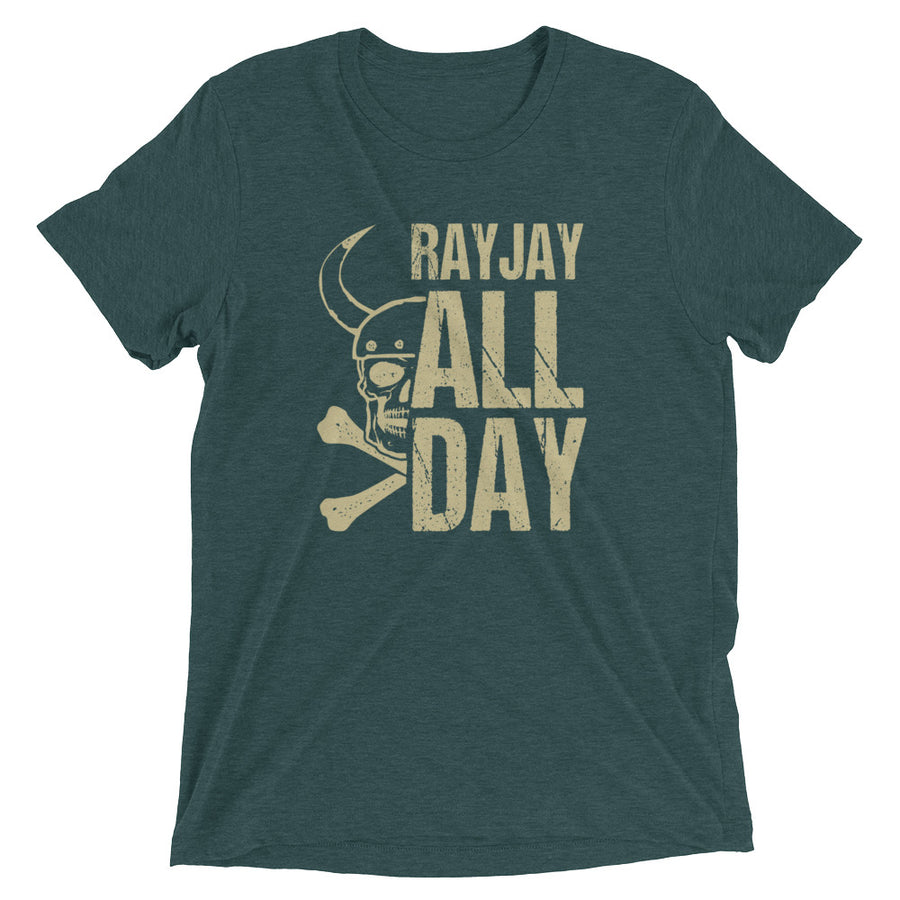 Unisex RayJay All Day Green Tee - Eola Apparel