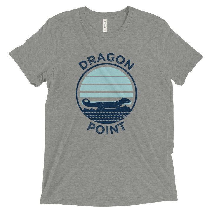 Unisex Dragon Point Postcard Tee - Eola Apparel