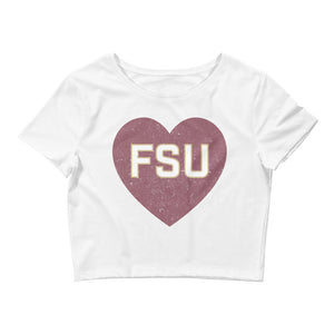 Women's Love FSU Crop - Eola Apparel