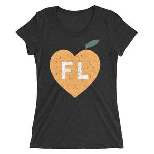 Ladies' Love Florida Citrus Tee - Eola Apparel