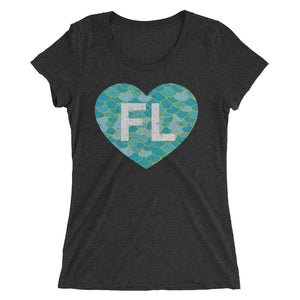 Ladies' Love FL Mermaid Tee - Eola Apparel