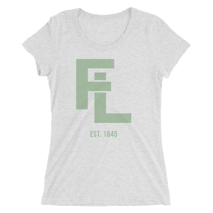 Ladies' Green FL Stack Tee - Eola Apparel