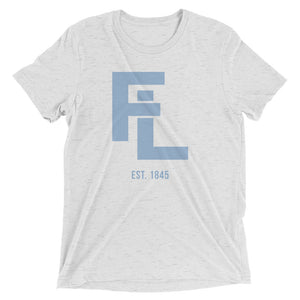 Unisex Blue FL Stack Tee - Eola Apparel
