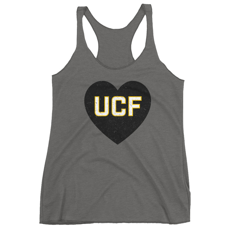 Women's Racerback Love UCF Tank - Eola Apparel