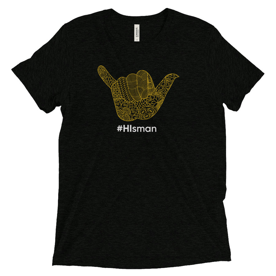 #HIsman Black and White Tee - Eola Apparel