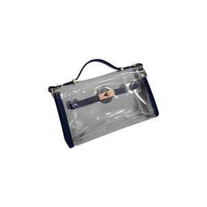 Clear Jelly Cross Body Stadium Purse - Eola Apparel