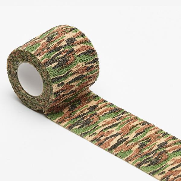 Wormhole Tattoo Strong Camouflage Self-adhesive Bandage Rolls 2¡±x 5 Yards 12-Pack - wormholetattoo