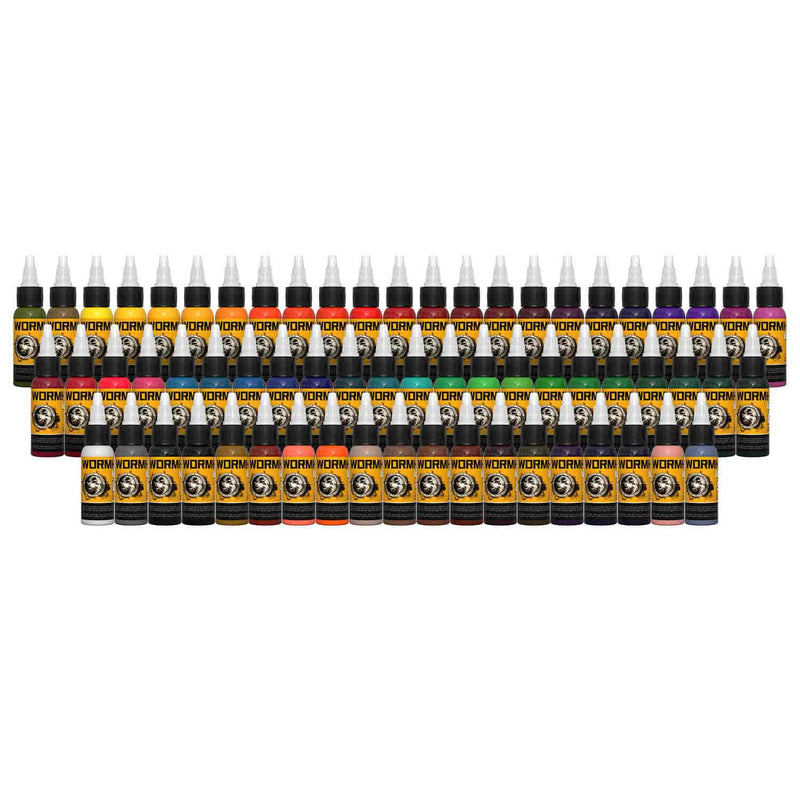 tattoo inks 64 colors