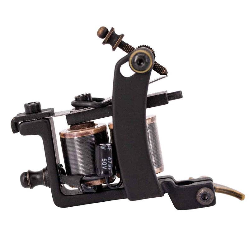 Coil Tattoo Machine  8 Wraps Coils Liner