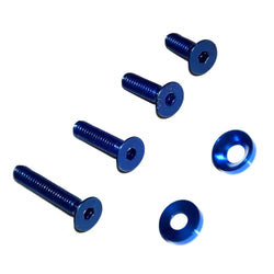 tattoo screw and washer blue