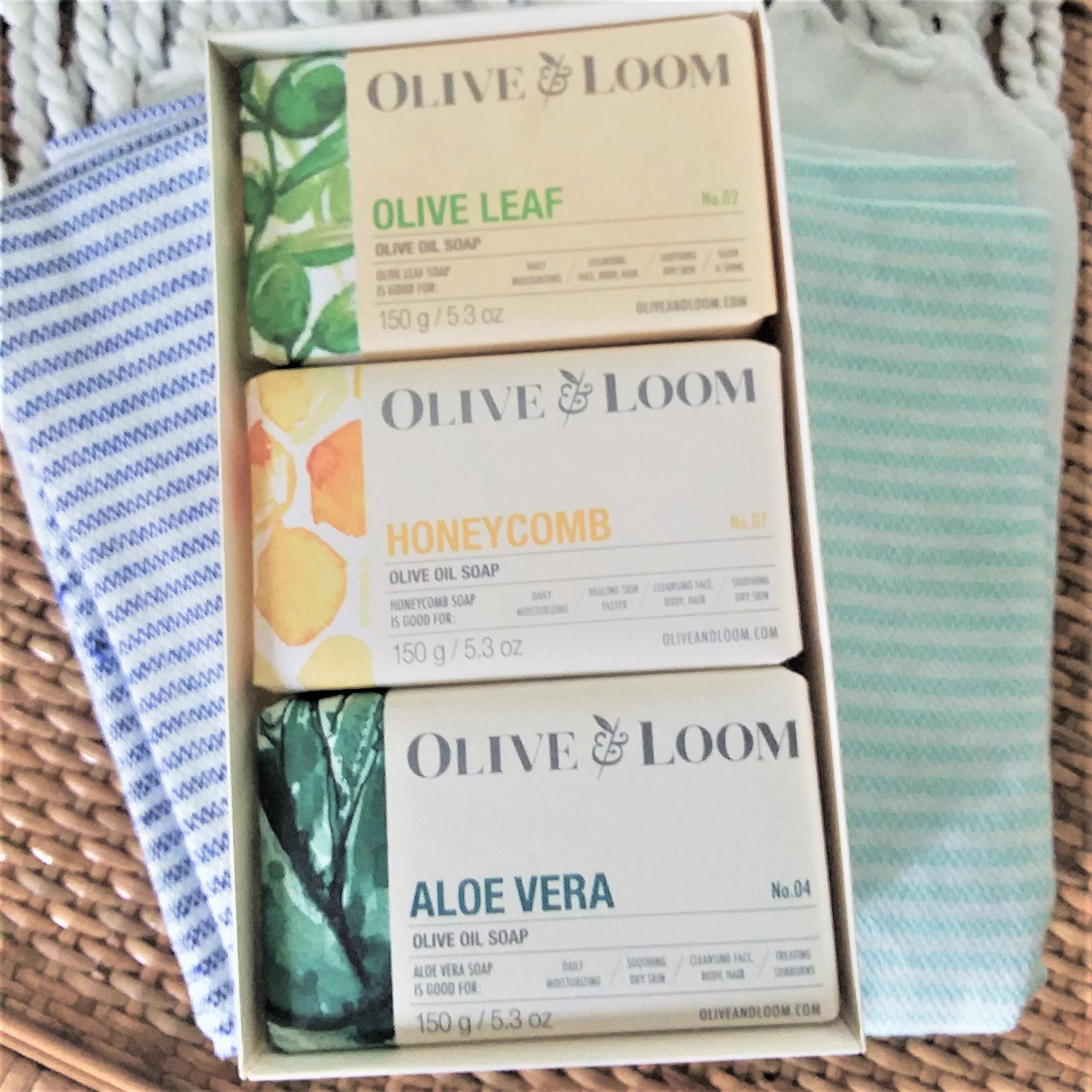 Olive & Loom Soap Set