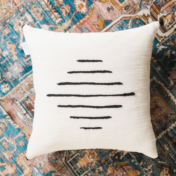 Hand-woven 18 Inch Tunisian Pillows
