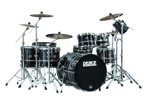 DNA Maple (Black Castle) Drum Set by Peace