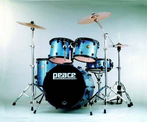 DNA Maple (Chrome) Drum Set by Peace