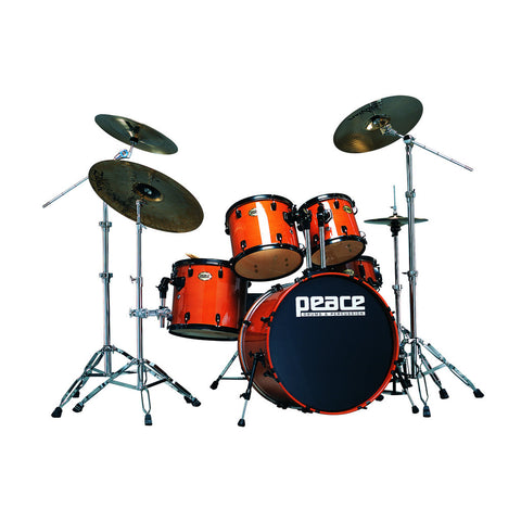 Onyx Drum Set by Peace