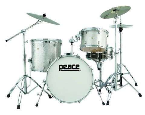 Dragster Maple Drum Set by Peace