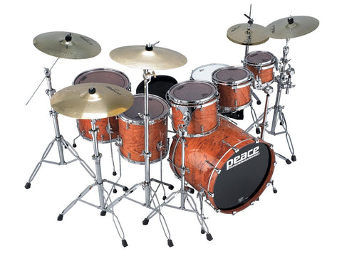 Kahuna Bubinga Drum Set (Tube lugs) by Peace