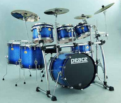 Paragon Maple Drum Set (Standard sizes) by Peace