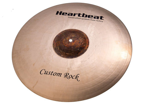 Heartbeat Custom Rock Ride Cymbals
