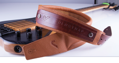 Solo Strap Leather Guitar Strap by Gruv Gear