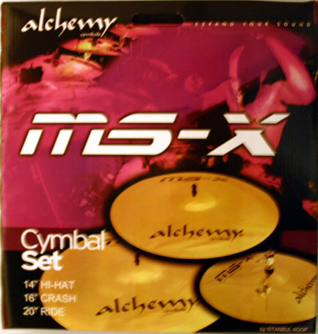 Alchemy MSX Cymbal Set