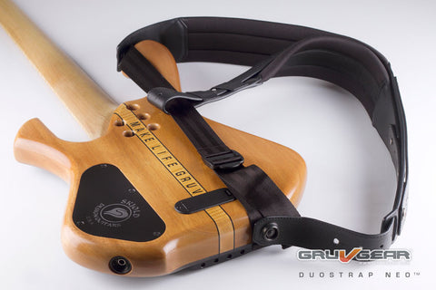 Duo Strap Neoprene Guitar Strap by Gruv Gear