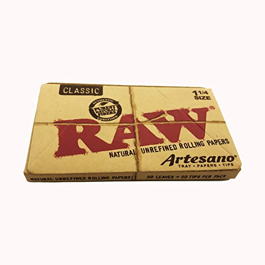 Raw Artesano Organic 1 1/4 Rolling Papers