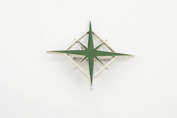 Atomic Starlight Brooch