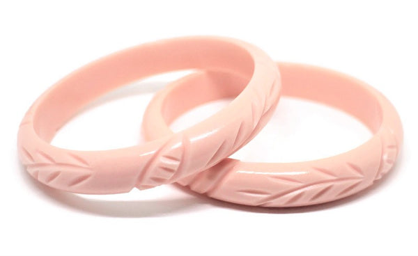 Midi Pink Tiki Twist Bangle