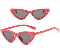 The Venice Diamante Cat Eye Sunglasses