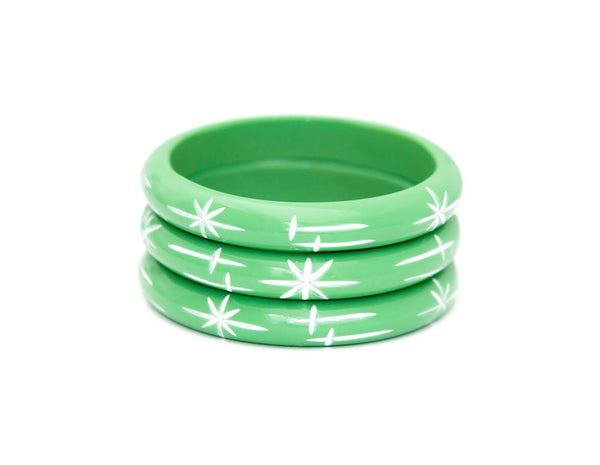 Midi Mint Starlight Bangle