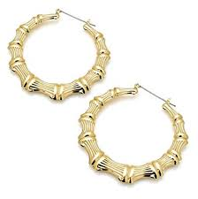 Chunky Chola Hoop Earrings