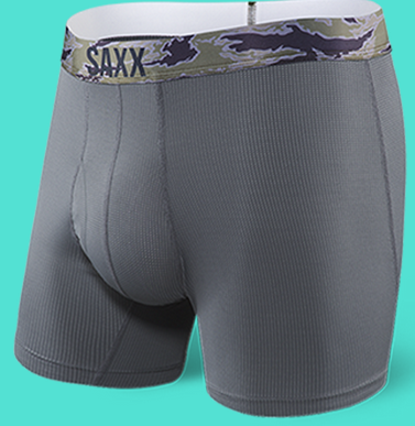Quest 2.0 Boxer Brief Dark Charcoal