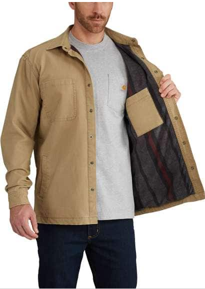 Rigby Shirt Jac/Fleece-Lined
