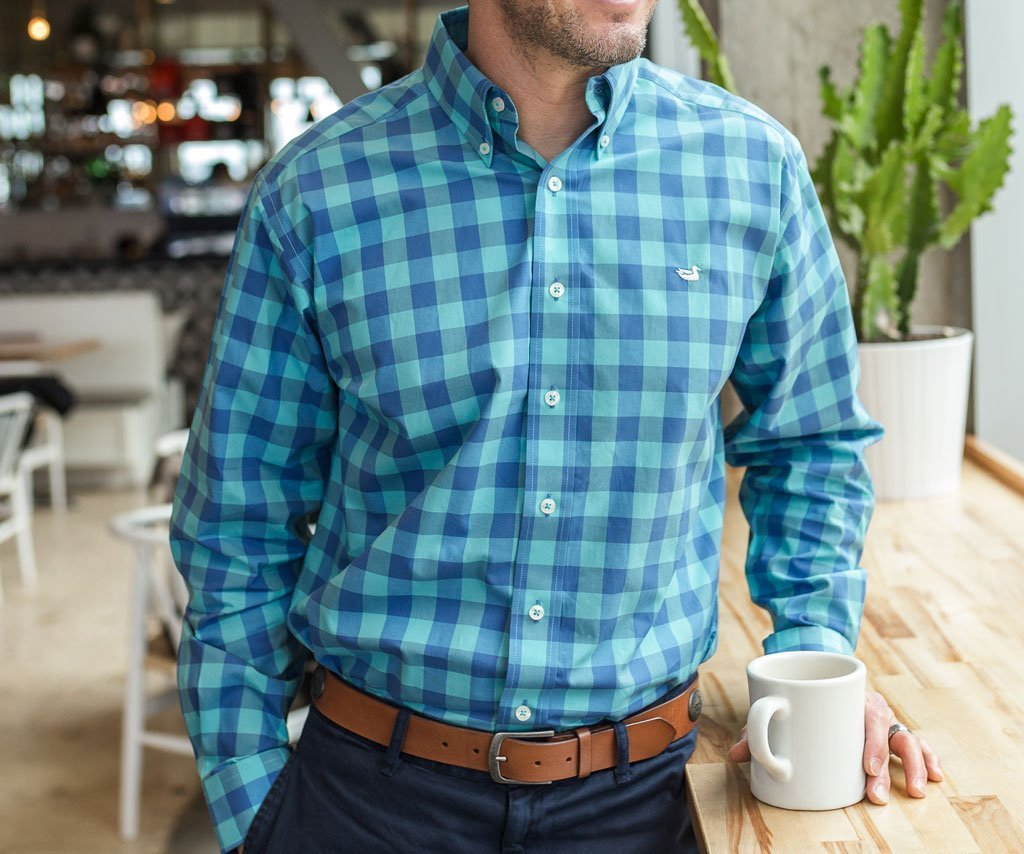 Pickens Gingham Dress Shirt
