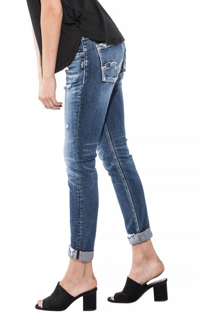 Sam Boyfriend Fit Skinny Denim