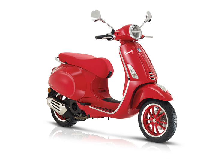 Vespa Primavera 125 ABS Red