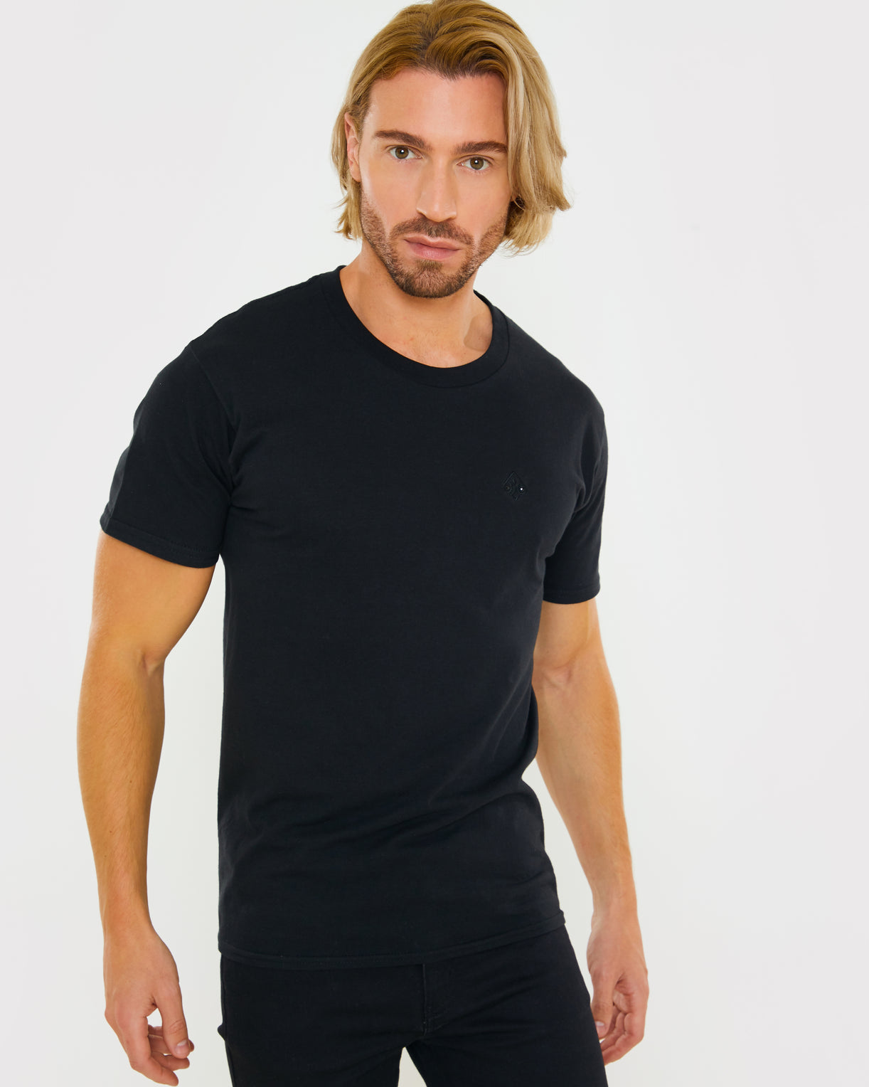 Black T-Shirt for Men/Women Uk