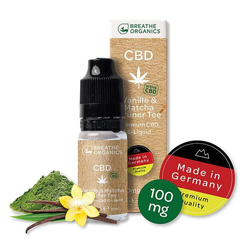 CBD Liquid Vanille / Matcha-Green Tea 100mg