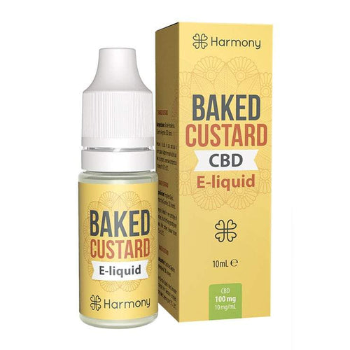 CBD Liquid Baked Custard