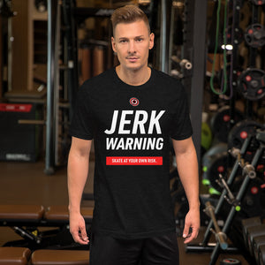 Jerk Warning Playoff Hockey Unisex T-Shirt