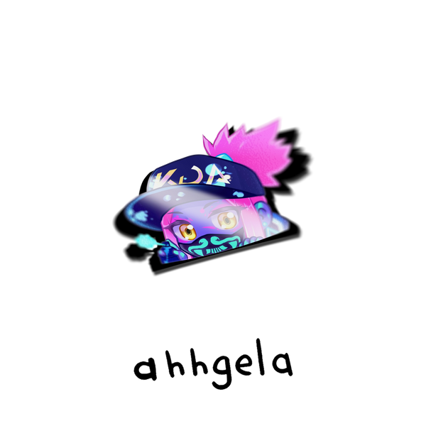 KDA Akali Peeking Sticker