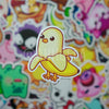Banana Bird Mini Sticker