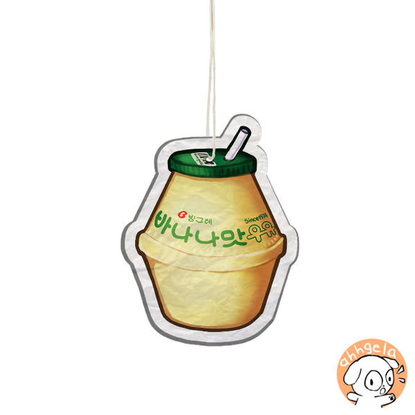 Banana Milk Air Freshener